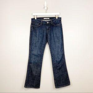 Joe's Jeans Provocateur Bootcut Dark Wash Jeans